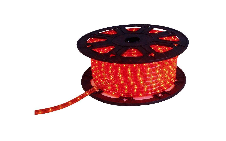LED-Ropelight Röd, 3w/m 230V IP44, metervara