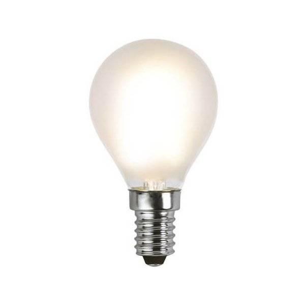 LED-Lampa Klot, Frostad E14 2700K 170lm 1,8W(18W)
