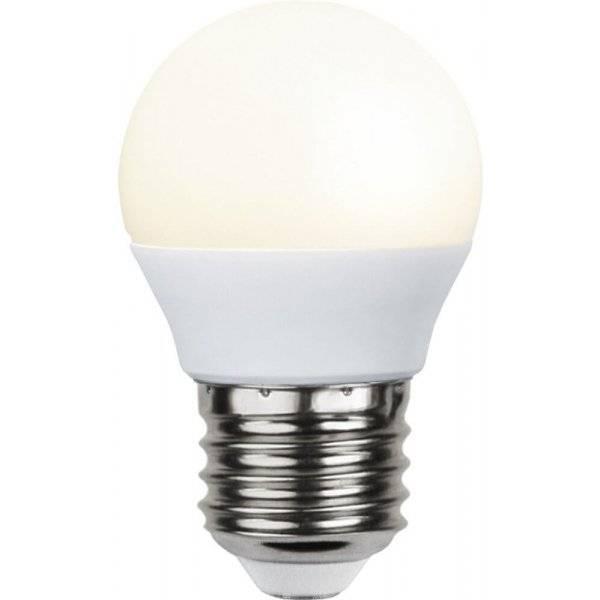 LED-Lampa Klot, Opal E27 3000K 250lm 3W(25W)