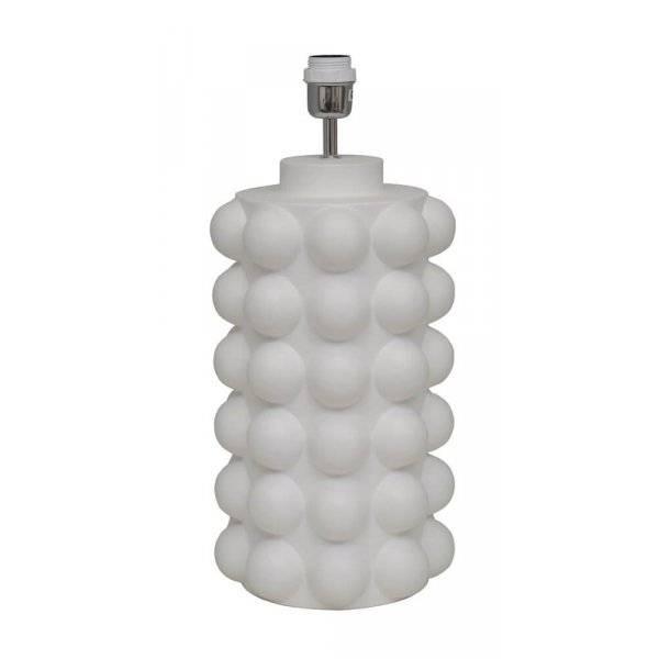 Bubbels Lampfot Vit 29cm