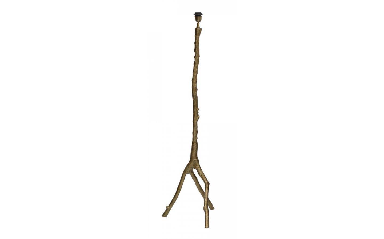 Branch Golvfot Antik Mässing