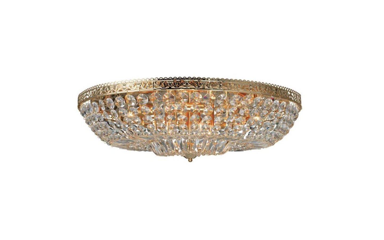 Vanadis Kristallplafond Guld 12xE14