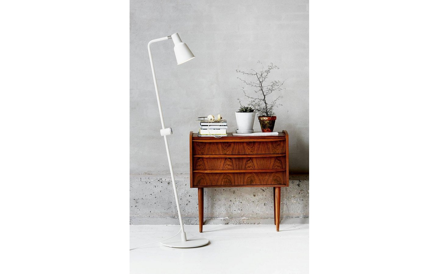 Patton Golvlampa Vit