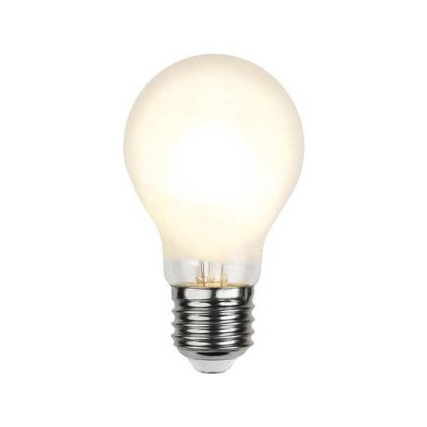 LED-Lampa Normal, Frostad E27 2700K 540lm 4,8W(44W)