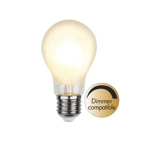LED-Lampa Normal, Frostad E27 2700K 400lm 4W(35W)