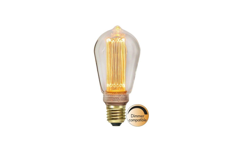 LED-Lampa Classic Lyktlampa, E27 2000K 90lm 2,5W(9W)
