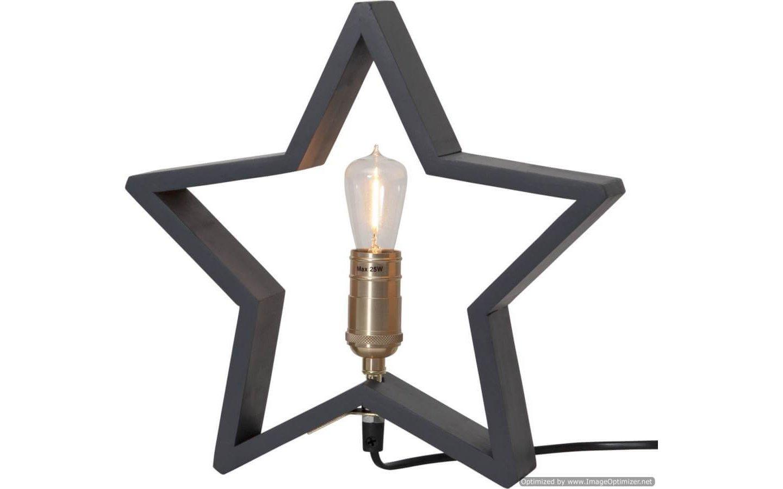 Lysekil Stjärna Liten 29cm Grå