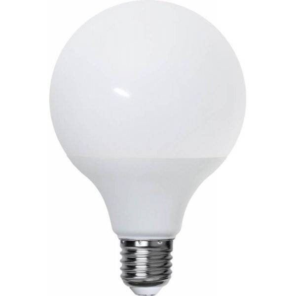 LED-Lampa Glob 95mm, Opal LED E27 3000K 300lm 3,7W(28W)