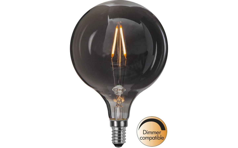 LED-Lampa Glob 95mm, Heavy Smoke, E14 2100K 55lm 1,4W(5W)