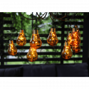 Glow Ljusslinga Amber LED 3,6 m