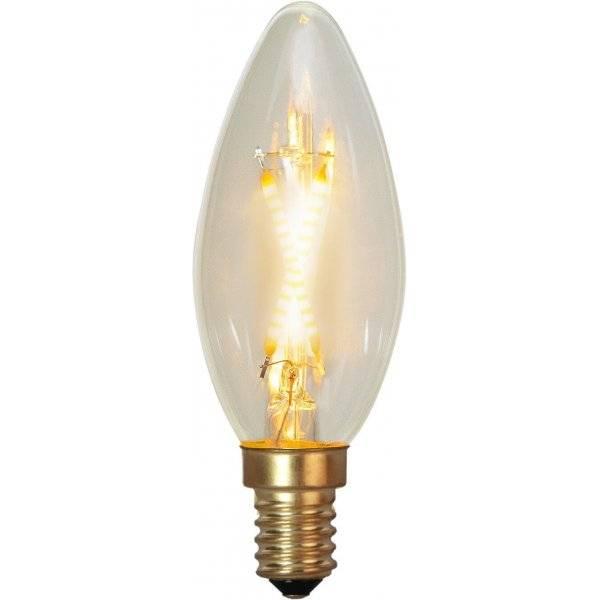 LED-Lampa Kron, E14 2100K 30lm 0,5W(3W)