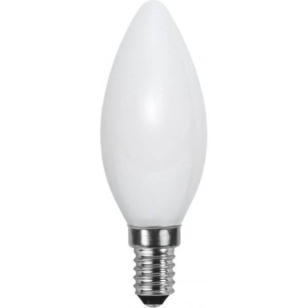 LED-Lampa Kron, Opal, E14 2700K 250lm 3W(25W)
