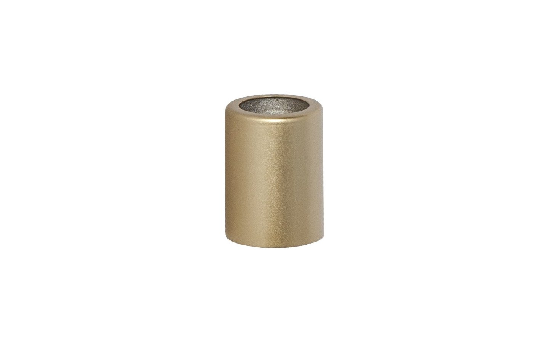 Ljusmanschett Metallhylsa 5-pack Silver