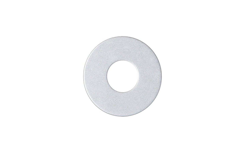 Ljusmanschett Platta 5-pack Silver