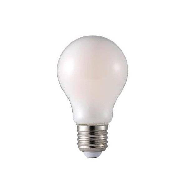 LED-Lampa Normal, Frostad E27 2700K 806lm 8,3W(60W)