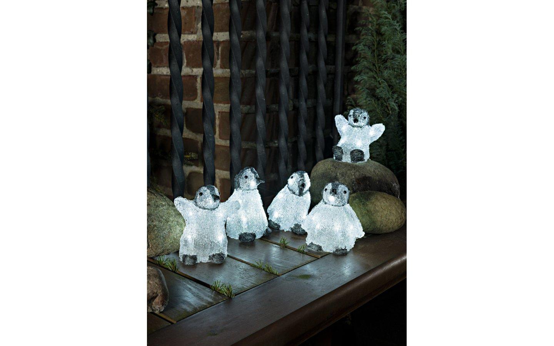 Pingvinbebisar 5-pack Crystal Utomhusdekoration