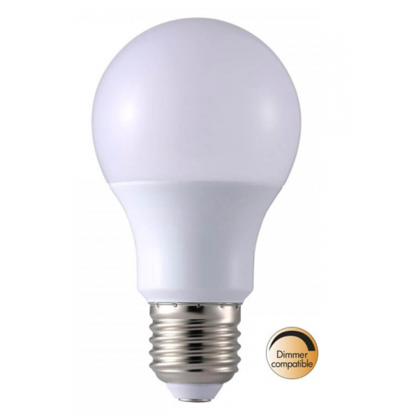 LED-Lampa Normal, Opal E27 2700K 806lm 8,7W(60W)