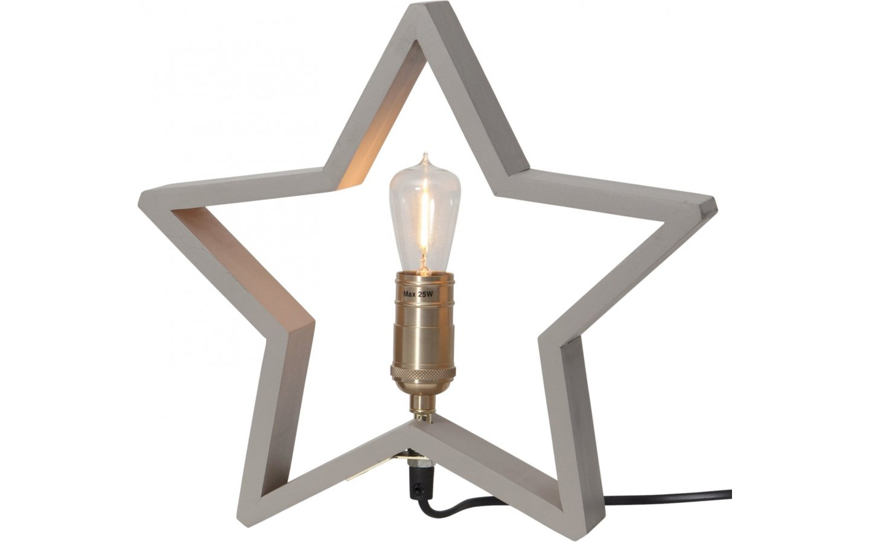 Lysekil Stjärna Liten 29cm Beige