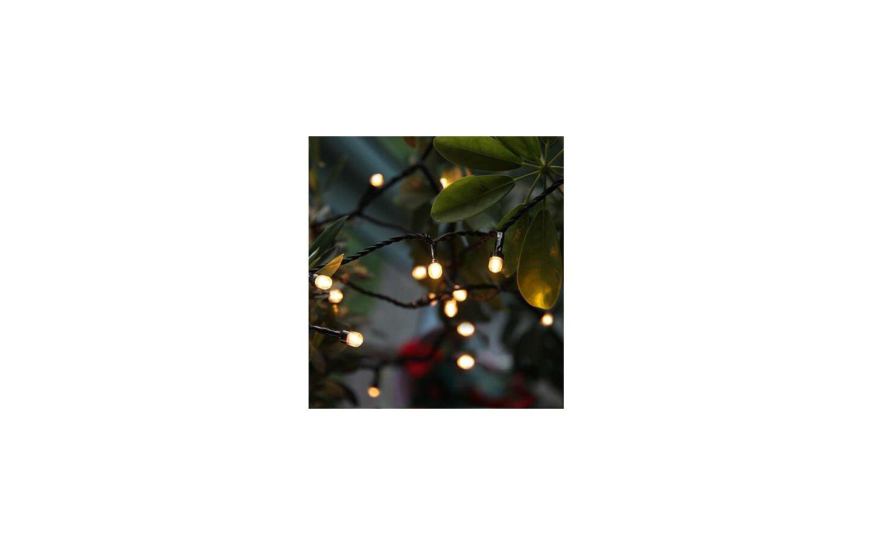 Partylight LED, Ljusslinga 3,9m Varmvit