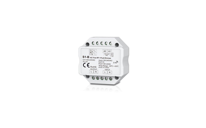 Trådlös LED Dosdimmer S1-B, 230V, 1-200W LED