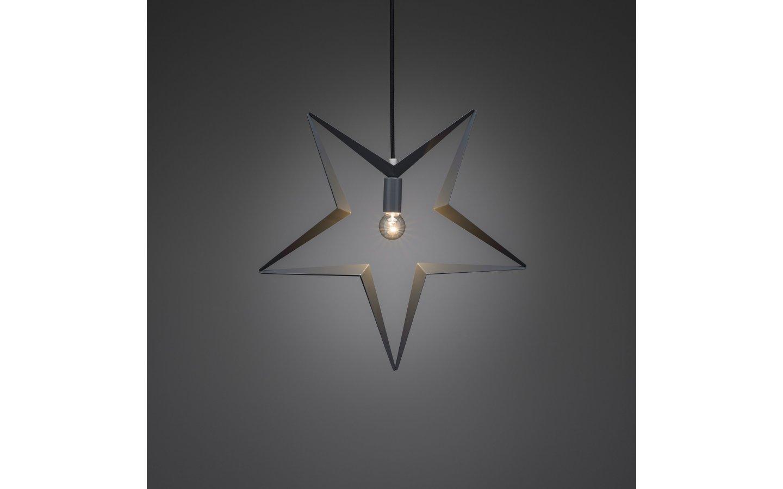 Hängande Metallstjärna Grå 45cm