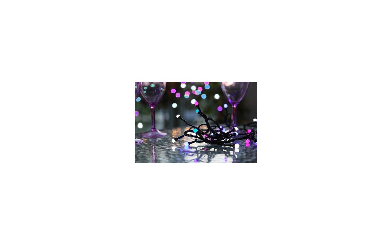 Partylight LED, Ljusslinga 4,1m Färgmix