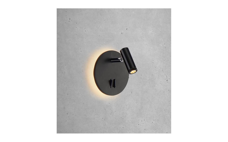 Palma Vägglampa Svart