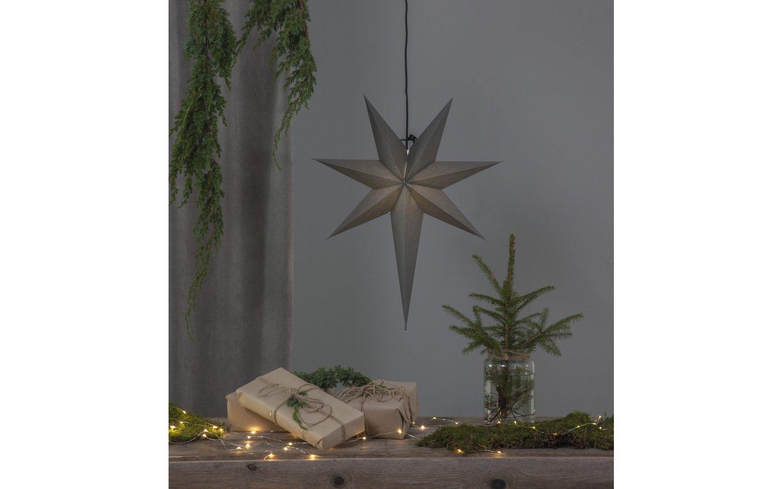 Ozen Adventsstjärna Grå 65cm