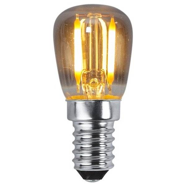 LED-Lampa Päron Heavy Smoke E14 2200K 30lm 1,4W(10W)