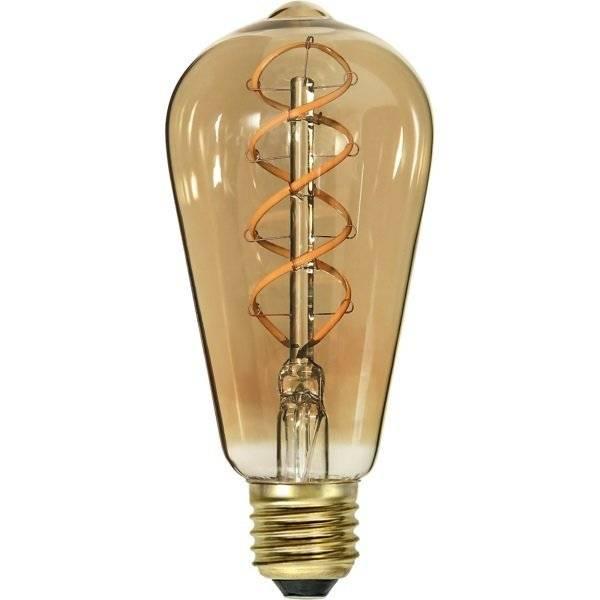 LED-Lampa Lyktlampa, E27 2000K 130lm 3,8W