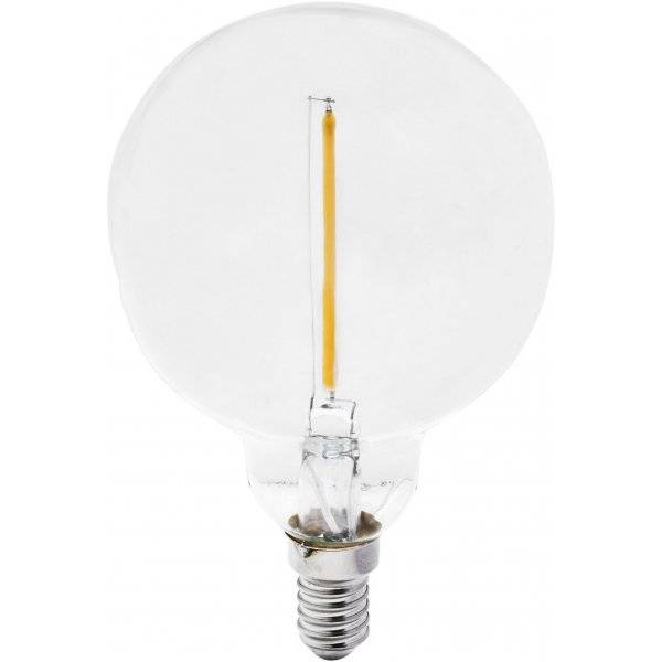 LED-Lampa Glob, 80mm E14 2200K 80lm 1W(7W)