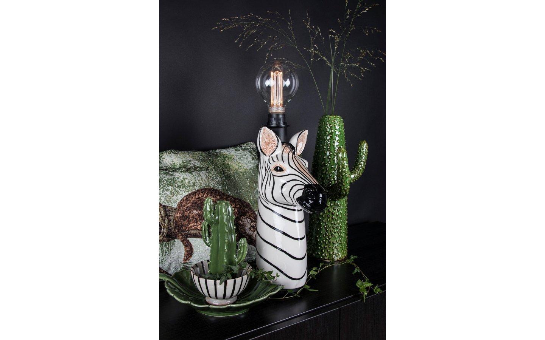 Zebra Bordslampa/Lampfot