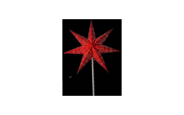 Resevdel till Antique Julstjärna på fot, RÖD