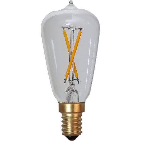 LED-Lampa Lyktlampa, E14, 2100K, 30lm, 0,5W(3W)