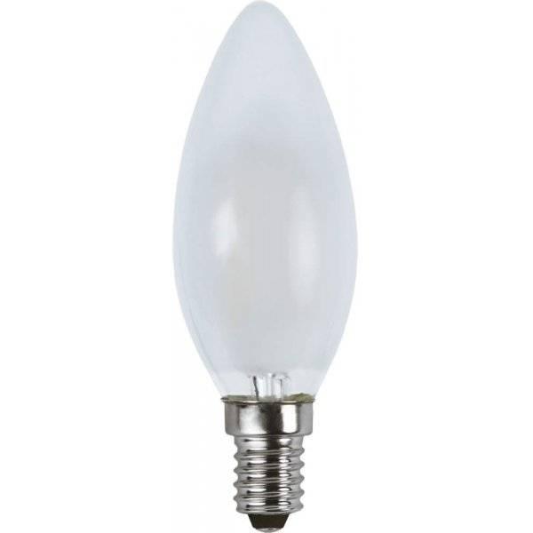 LED-Lampa Kron, Frostad E14 2700K 150lm 1,5W(16W)