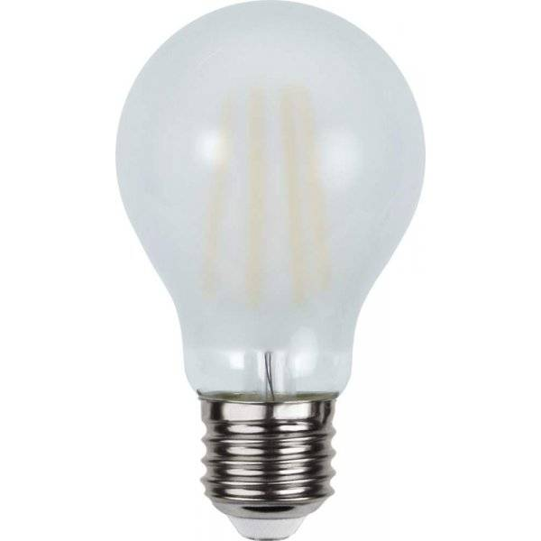 LED-Lampa Normal, Frostad E27 2700K 500lm 4,8W(42W)