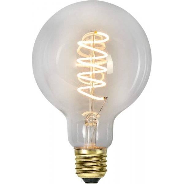 LED-Lampa 3-Steg DIM Glob 95mm, E27 2100K 270lm 4W(25W)