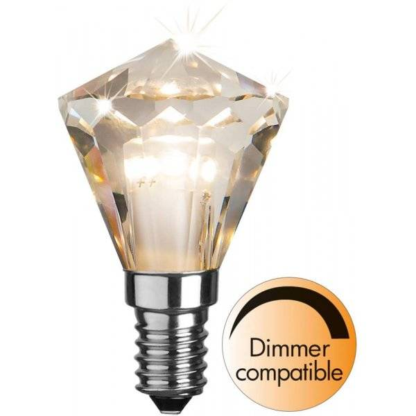 Köp LED Lampa Drop 125mm, Cristal E27 2200K 140Lm