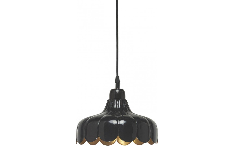 Wells Fönsterlampa 24cm Svart