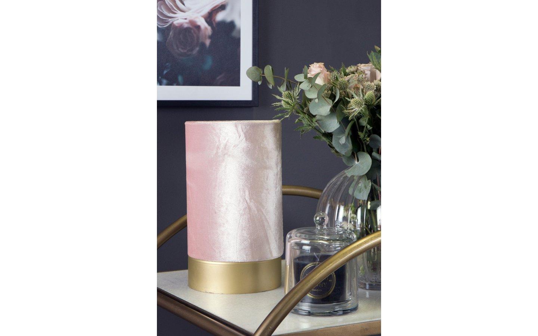 Velvet Bordslampa Rosa