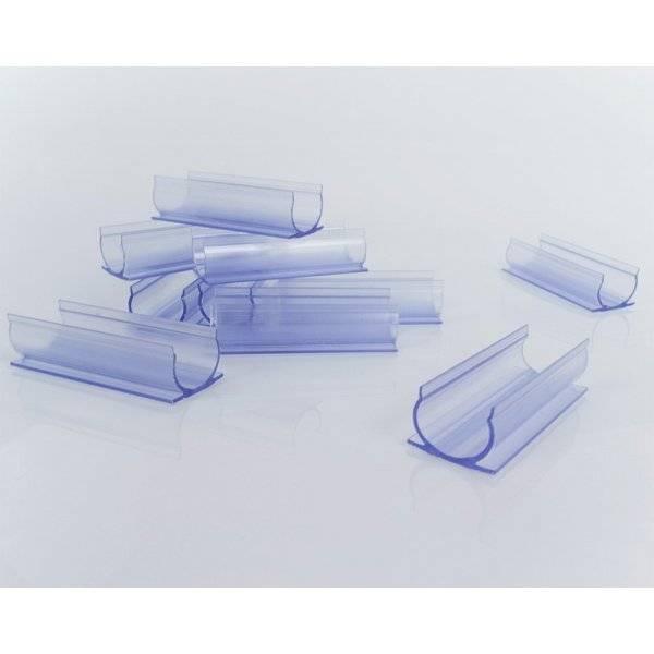 Plastclips 5cm för LED-Neonslang Rund, 5-pack