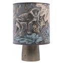 Icon Bordslampa Silver/Mönster