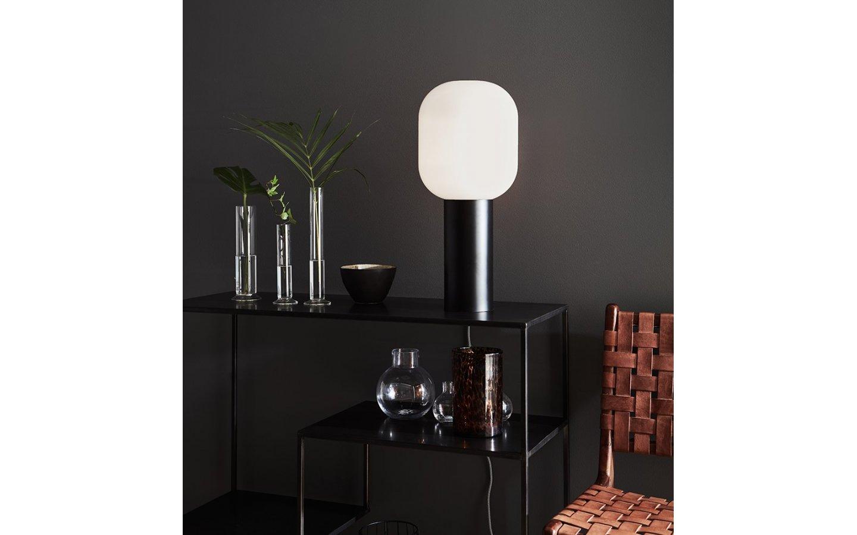 Brooklyn Bordslampa 56cm Svart/Opal