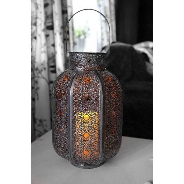 Nykomna Köp Agadir Ljuslykta, LED 36cm från Star Trading GK-29