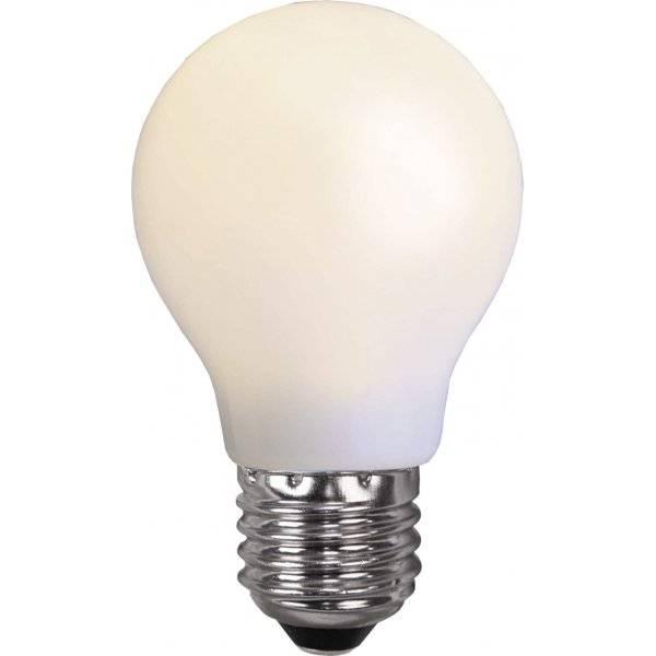 LED-Lampa Normal, Opal E27 2600K 60lm 1W(6W)