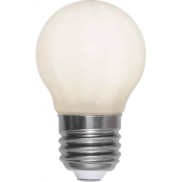 LED-Lampa Klot, Opal, E27 2700K 150lm 2W(16W)
