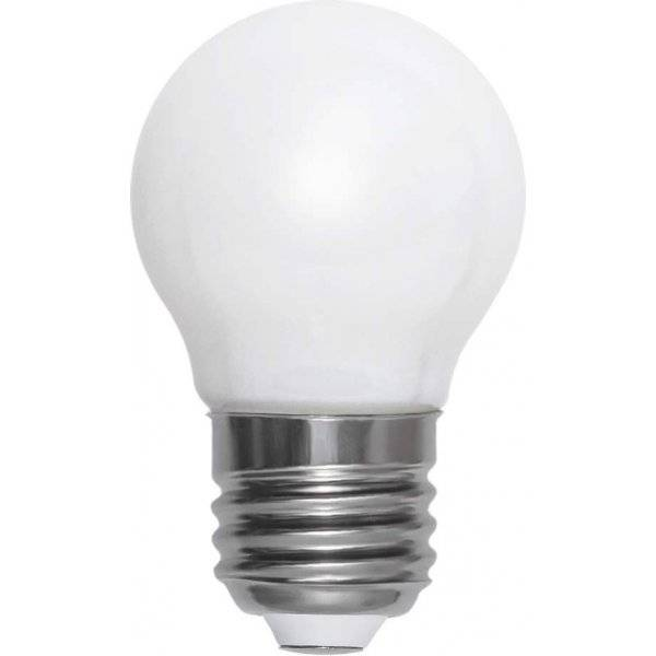 LED-Lampa Klot, Opal, E27 2700K 250lm 3W(25W)