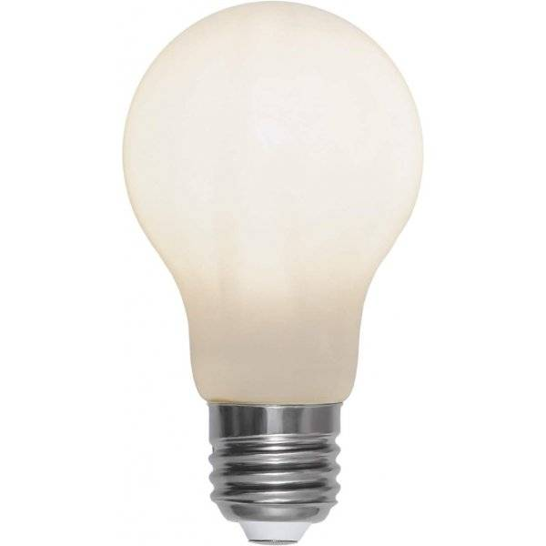 LED-Lampa Normal, Opal, E27 2700K 450lm 5W(39W)