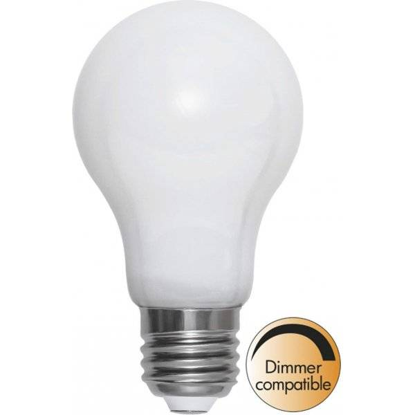 LED-Lampa Normal, Opal, E27 2700K 720lm 7,5W(55W)