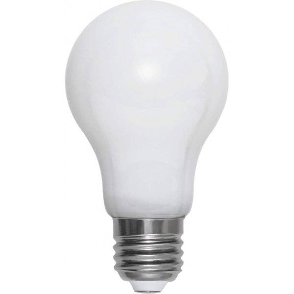 LED-Lampa Normal, Opal E27 2700K 470lm 5W(40W)